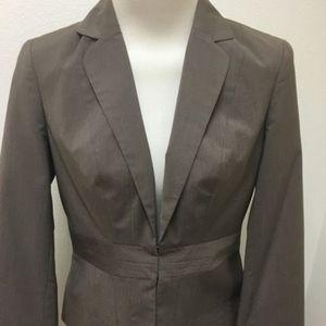 NEW  Nine & Co. Nine West Tan Blazer Jacket Size 6